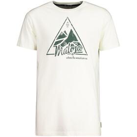 Maloja ChaleschM. Koszulka Mężczyźni, vintage white